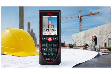 מדידות חוץ – LEICA D410